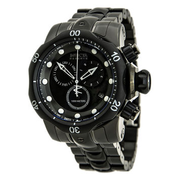 Invicta 80687 Men's Venom Chronograph Black Dial Two Tone Bracelet Dive Watch