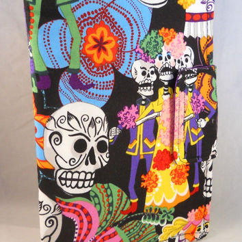 Kindle Fire HD Cases Kindle Fire Cover Cute Kindle Fire Case Sugar Skulls Polka Dots