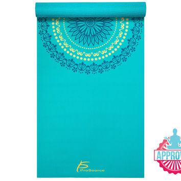 "Mandala Yoga Mat 3/16"" (5mm)"