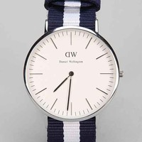 Daniel Wellington Glasgow Watch- Silver One