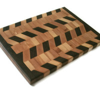 Diagonal Cutting Board by BillsWoodenPleasures