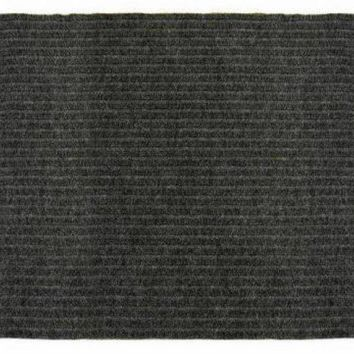 Multy Home MT1001734 Concord Utility Carpeted Floor Runner, Charcoal, 2' x 5'