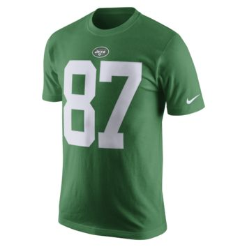 Nike Color Rush Name and Number (NFL Jets / Eric Decker) Men's T-Shirt