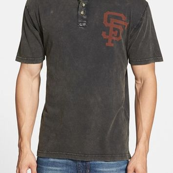 Men's Red Jacket 'San Francisco Giants - Luther' Henley,