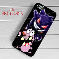 Courage the Cowardly Dog - z321z for  iPhone 4/4S/5/5S/5C/6/6+s,Samsung S3/S4/S5/S6 Regular/S6 Edge,Samsung Note 3/4