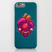 Happy Heart iPhone & iPod Case by Artistic Dyslexia | Society6