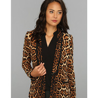 Juicy Couture Flowing Leopard Blazer