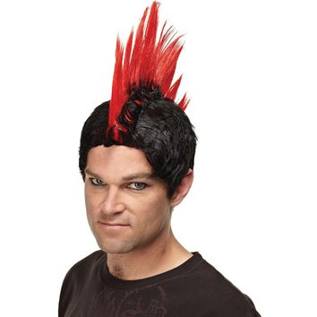 Mohawk Punk Rock Wig