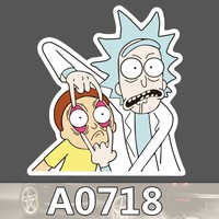 A0718 Rick and Morty Rick Sanchez Smith Waterproof Sticker Cool Laptop Luggage Fridge Skateboard Graffiti Notebook Stickers