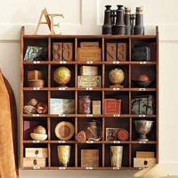 Cubby Organizer - Natural stain | Pottery Barn