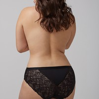 Charmer Hipster Panty with Lace Back | Lane Bryant