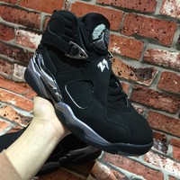 [ Free Shipping ]Air Jordan 8 ¡°Chrome¡± Basketball Sneaker