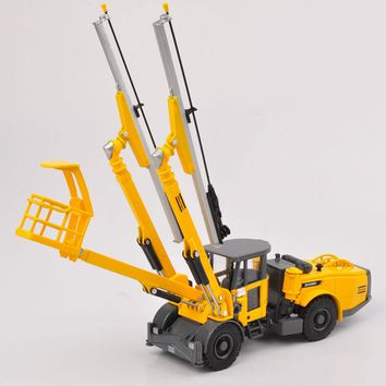 1/50 Alloy Diecast Truck Model Toys New Copco Face Drilling Rig Bommer E2 C Engineering Car   Toys Kids Gifts Collections