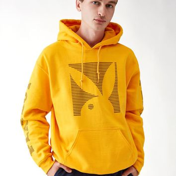 Good Worth x Playboy Capital Pullover Hoodie at PacSun.com - gold | PacSun