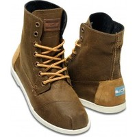 Rust Aviator Twill Men's Utility Boots