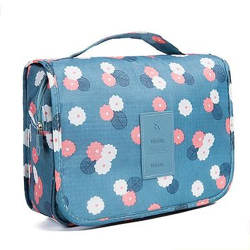Women and Men Large Waterproof Makeup Bag Women Travel Toiletry Wash Toiletry Bag Make Up Case Cosmetic Bag Organizer Bags