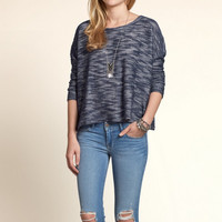 Textured Boxy T-Shirt