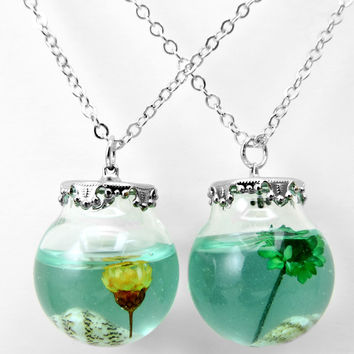 Jewelry Gift New Arrival Shiny Stylish Glass Sea Hot Sale Summer Necklace [8995895116]