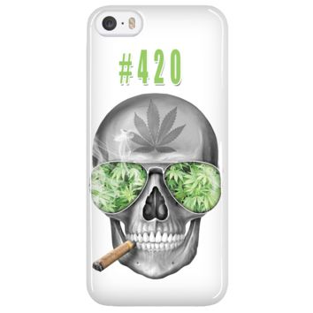 #420 Weed iPhone 5 Cellphone Case
