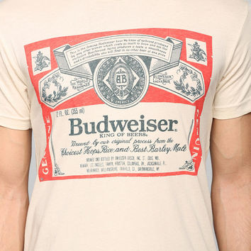 Junk Food Budweiser Tee - Urban Outfitters