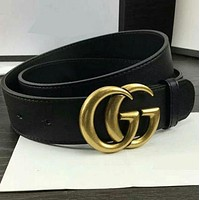 GUCCI Belt Stylish men and women show personalized belt