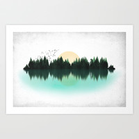The Sounds of Nature Art Print by [ His Artwork ]