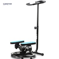 Household fitness Steppers with Handle Bar and band LCD display screen
