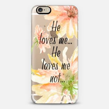 He Loves Me... iPhone 6 case by Allison Reich | Casetify