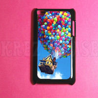Ipod Touch 4 Case -  Balloons House  Ipod 4G Touch Case, 4th Gen Ipod Touch Cases