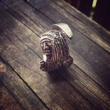 The Adventures Indian Sterling Spoon Ring