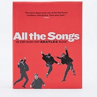 All The Songs Beatles Book - Urban Outfitters