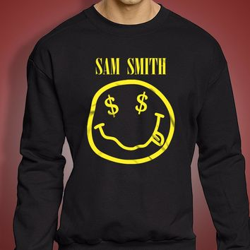 Sam Smith Band Logo Men'S Sweatshirt