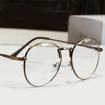 New Fashion Eyeglasses Men Designer Metal Round Eyeglasses Frame Women Optical Computer Eye Glasses Frame oculos de grau A150