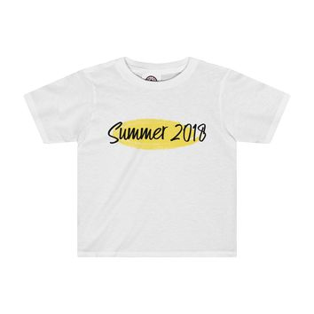 Summer 2018 Toddler Shirt