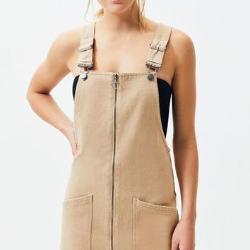 Kendall and Kylie Zip Front Overall Dress | PacSun
