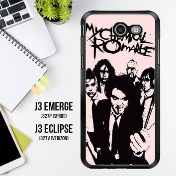 My Chemical Romance V0460 Samsung Galaxy J3 Emerge, J3 Eclipse , Amp Prime 2, Express Prime 2 2017 SM J327 Case