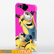 Despicable Me Apple Logo iPhone 4/4S, 5/5S, 5C Series Full Wrap Case