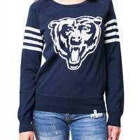Chicago Bears Womens Varsity Sweater | SportyThreads.com