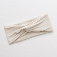 Aerie Twist Headband, Cream