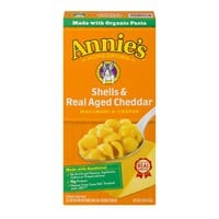 Annie's Macaroni & Cheese, Real Aged Cheddar, 6 Oz (Pack of 3) - Walmart.com