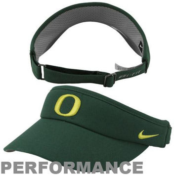 Nike Oregon Ducks Sideline Dri-FIT Adjustable Performance Visor - Green