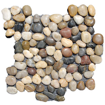 Melange Pebble Tile