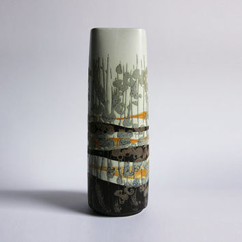 Danish Tall Fajance Vase - Ivan Weiss for Royal Copenhagen 60s