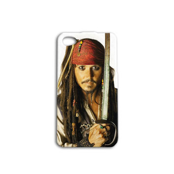 Johnny Depp Disney Custom Case for iPhone 5/5s and iPhone 4/4s