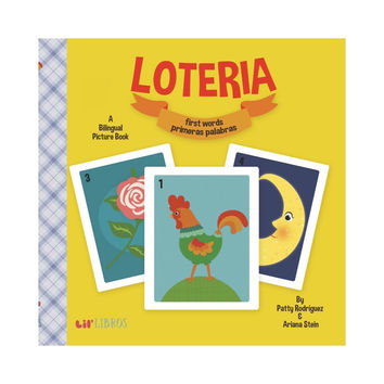 LIL LIBROS LOTERIA: FIRST WORDS/PRIMERAS PALABRAS