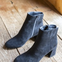Daria Suede Bootie, Black | Chinese Laundry