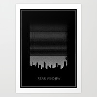 Rear Window Art Print by Ube Bones