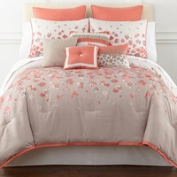 jcpenney - JCPenney Home™ Addyson 10-pc. Comforter Set - jcpenney