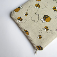 Linen bees MacBook Air 13 sleeve, MacBook Air 13 Case, MacBook Pro 13 case, MacBook Air 13 Cover, MacBook Pro 13
