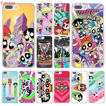 Lavaza The Powerpuff Girls Hard Coque Shell Phone Case for Apple iPhone 8 7 6 6S Plus X 10 5 5S SE 5C 4 4S Cover